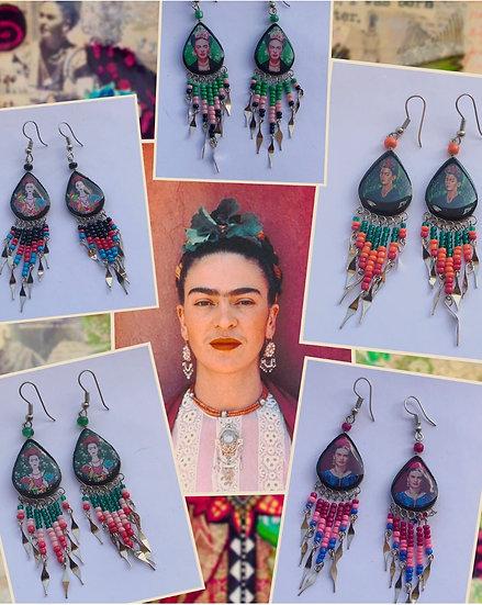 Boucles d'oreilles - Frida Kahlo