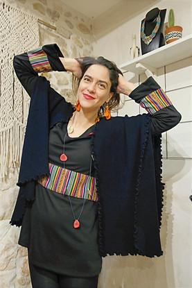 Robe Tunique signée Claudia Falconi