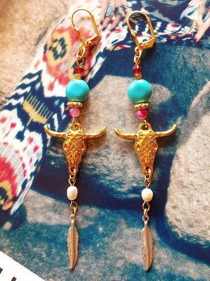 Boucles d'oreilles Jo Love - Collection Boho Love