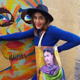 Tôte Bag Frida Kahlo