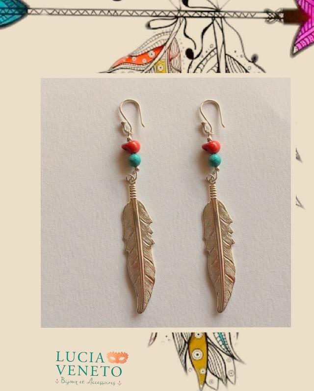 Boucles d'oreilles Apache - Collecti