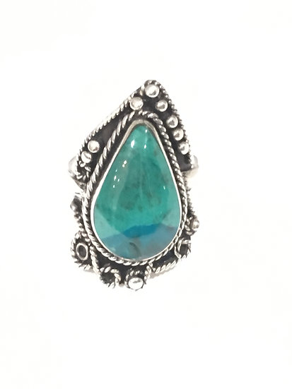 Bague Pacha argent 950 Turquoise