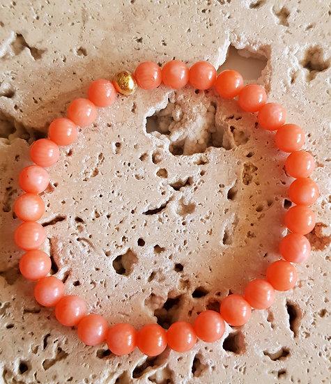 Bracelet Corail Bambou Mar