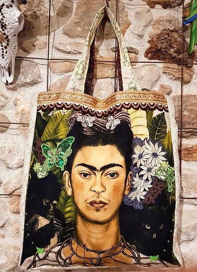 "Sac Cabas ""Le Collier de Frida Kahlo"""