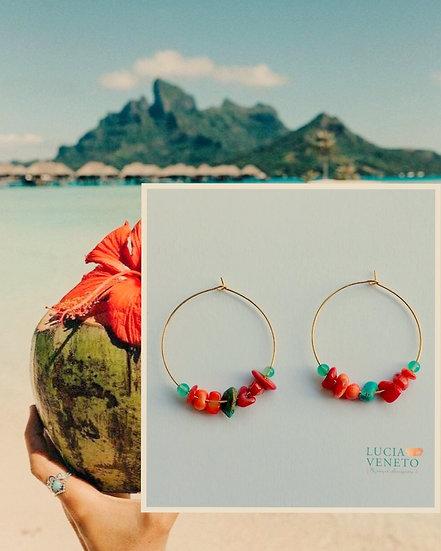 Créoles Hawaii   - Collection Aloha