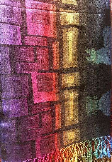 Étole Cuzco Abstrait