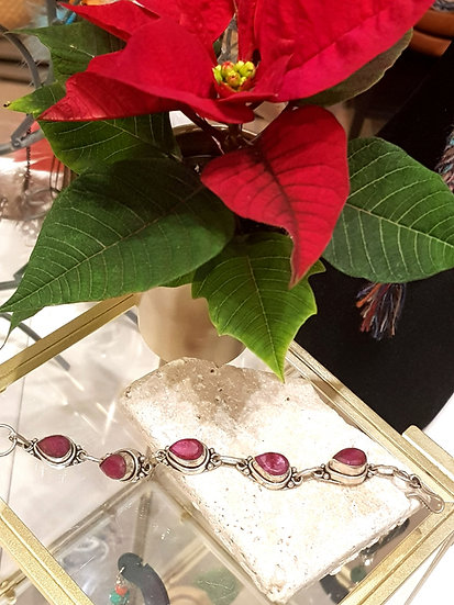 Bracelet Vintage Rubis