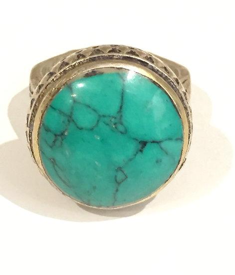 Bague Turquoise Vintage