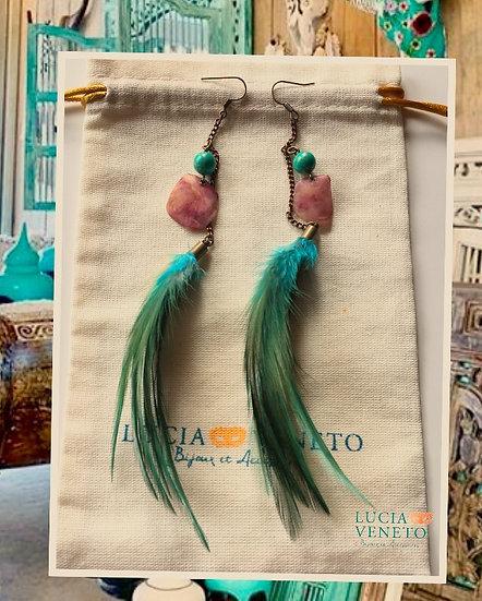 Boucles d'oreilles Ibiza Bohème