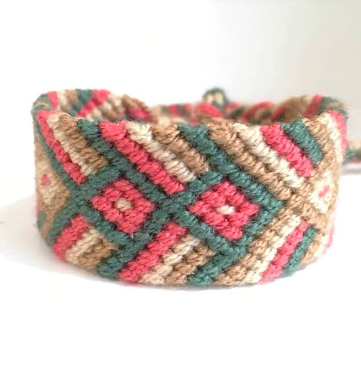 Bracelet  Wuayuu Amaranta