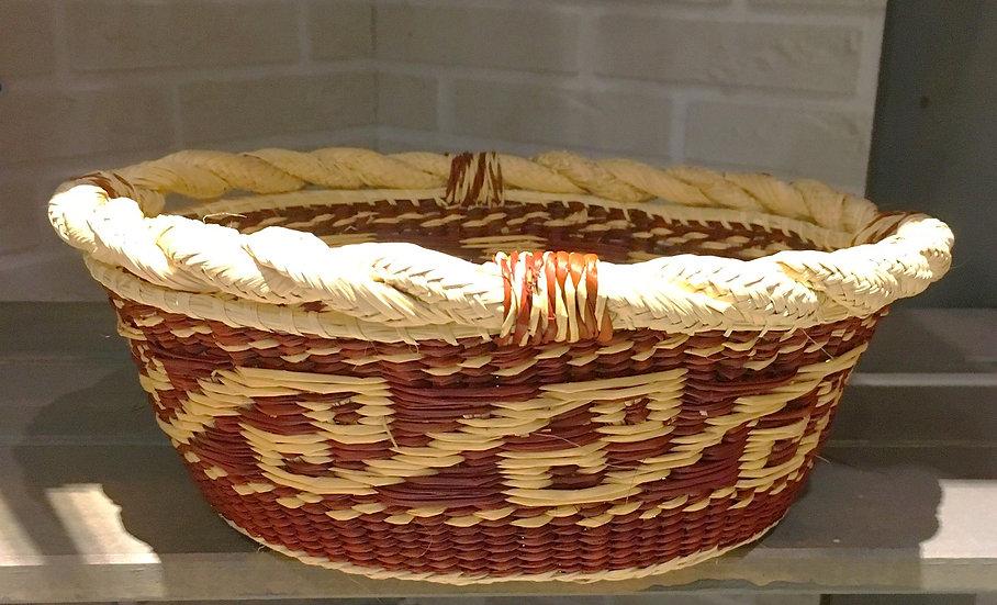 Panier Sechura en fibre végétale