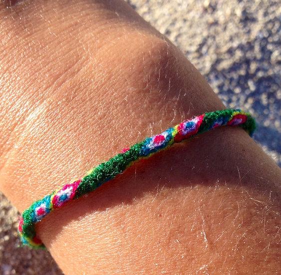 Bracelet Taquile - Vert