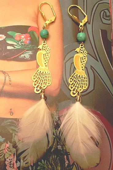 Boucles d'oreilles Shipiba Chic Boho