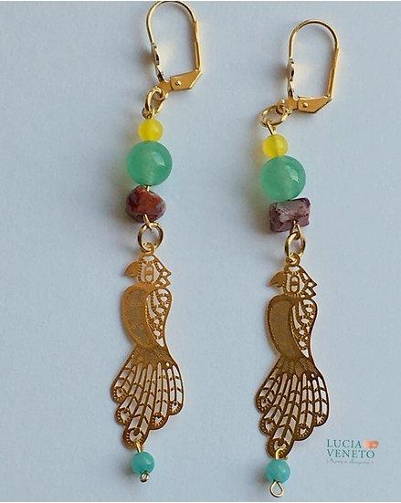 Boucles d'oreilles Nature - Collection Amazochic