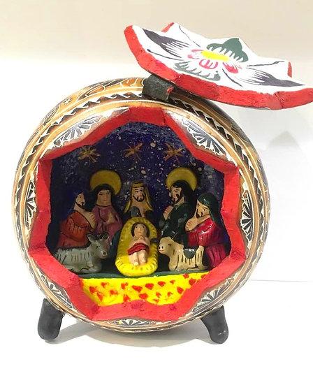 Crèche Mate Grande -Navidad