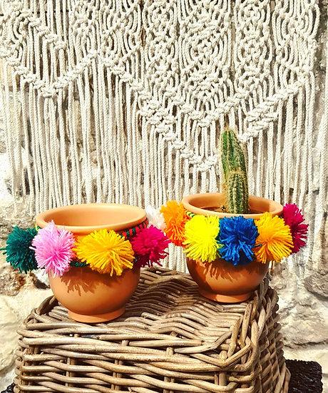 Pot de plante décoratif Terre Inca