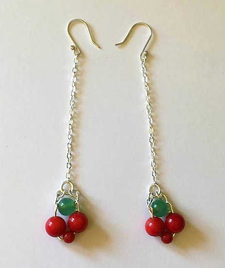 Boucles d'Oreilles Frida - Longues