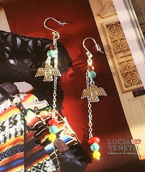 Boucles d'Oreilles Lakota