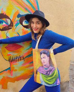 Totebag Frida Kahlo