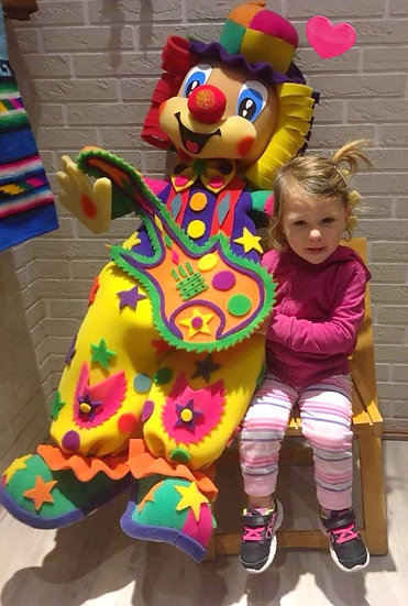 Piñata Clown avec Chipote