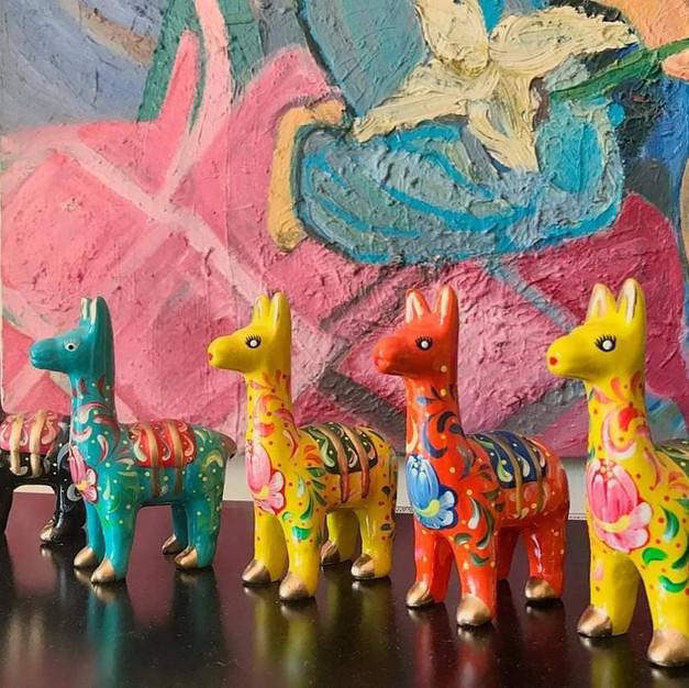 Lamas décoratifs