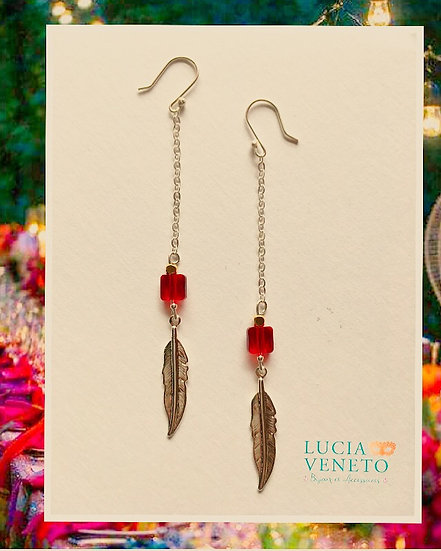 Boucles d'Oreilles Boho Glam- Collection Native Chic
