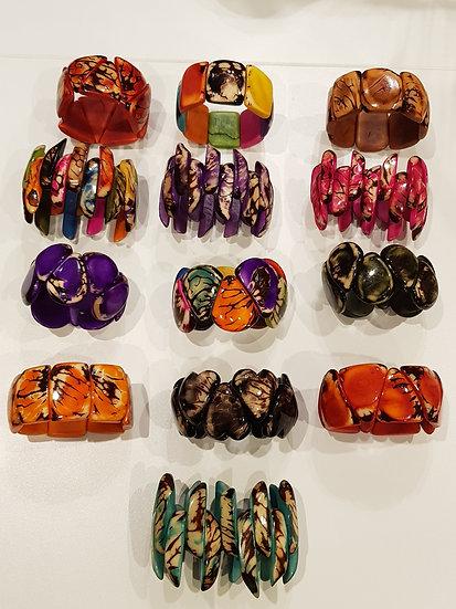 Bracelets Manchettes Tagua