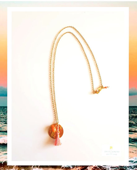 Collier Sunset Corail
