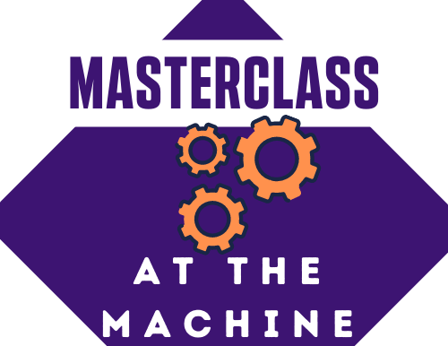 Masterclass at the Machine Launch in conjunction with...