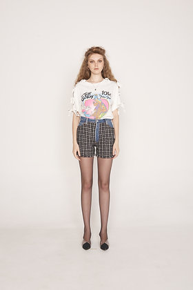 Chanel Bow Sleeves t-shirt