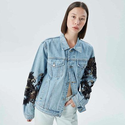 'NOBU' lace jacket jeans