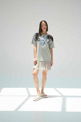 'ATHEENEE GREY' Mini dress
