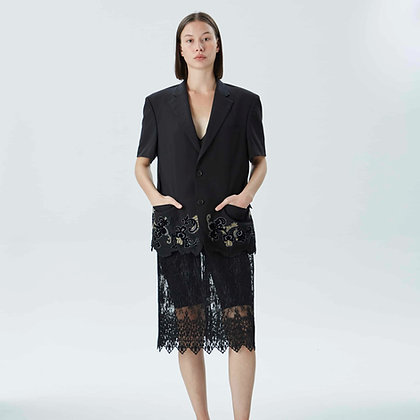 'RAFFLES' Blazer dress