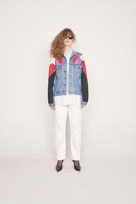 Windbreaker Cut Jacket Jeans