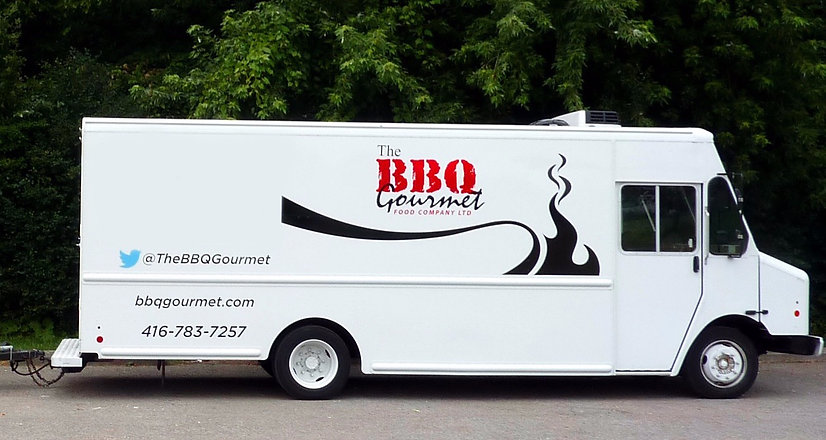 BBQ Smoker Trailer with Refrigerated BBQ