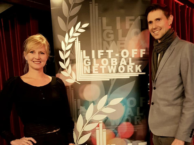 Director Gene, and Producer Bianca a Lif
