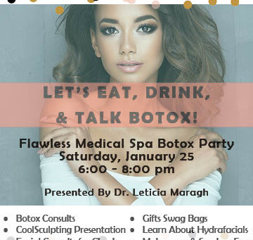 We welcome you to this weekend's Botox Party!
