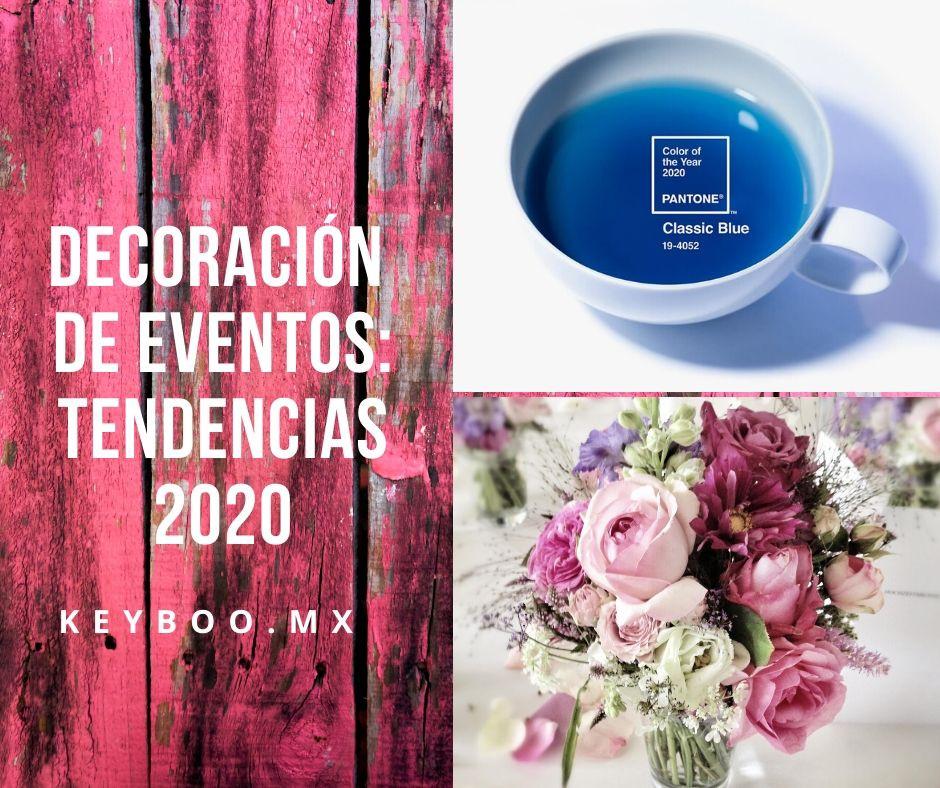 Tendencias en la organización de eventos 2020 by Keyboo