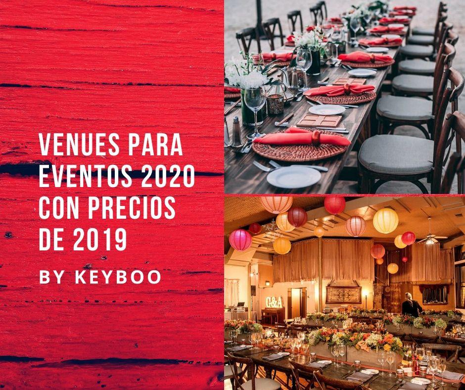 Venues para eventos CDMX 2020