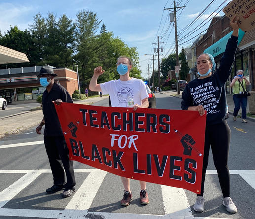 Teachers for Black Lives Rallies