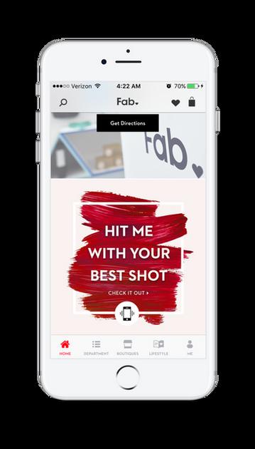 Webby Award Winning Fab.com App re-design