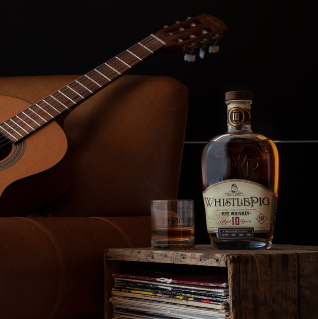 WhistlePig 10 Year for Rolling Stone Magazine