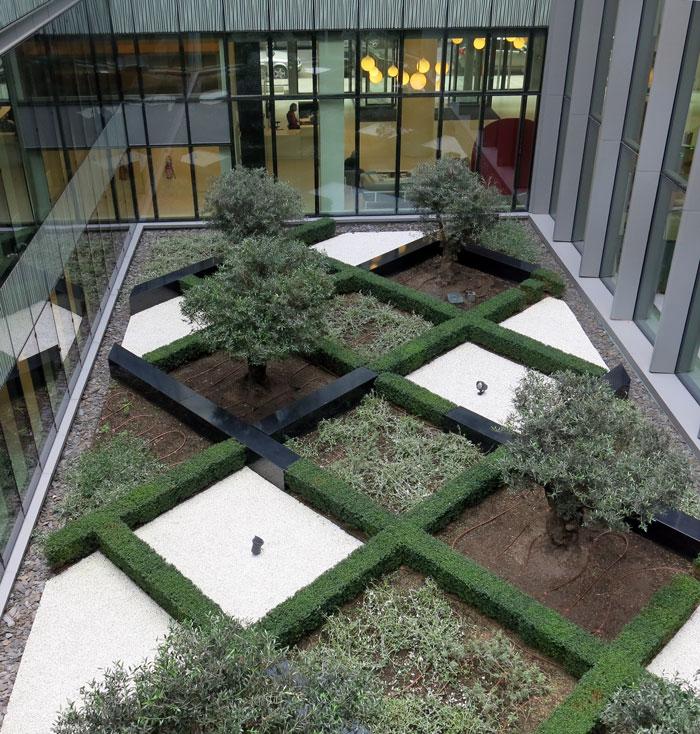 Aménagement paysager à Paris