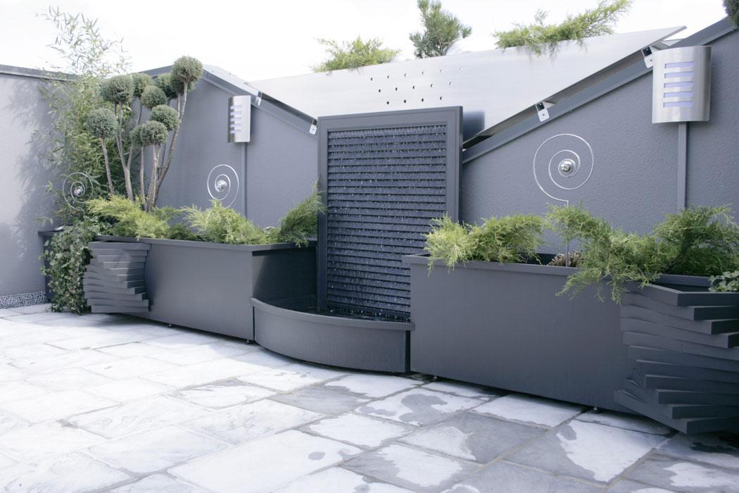 Aménagement de terrasse