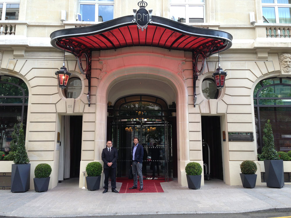 Hôtel Royal Monceau Paris