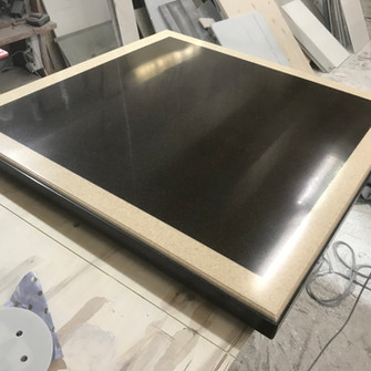 Накладка на стол из искусственного камня
