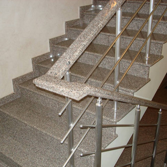 Лестница из искусственного камня