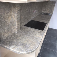 Стоешница на кухню из искусственного камня
