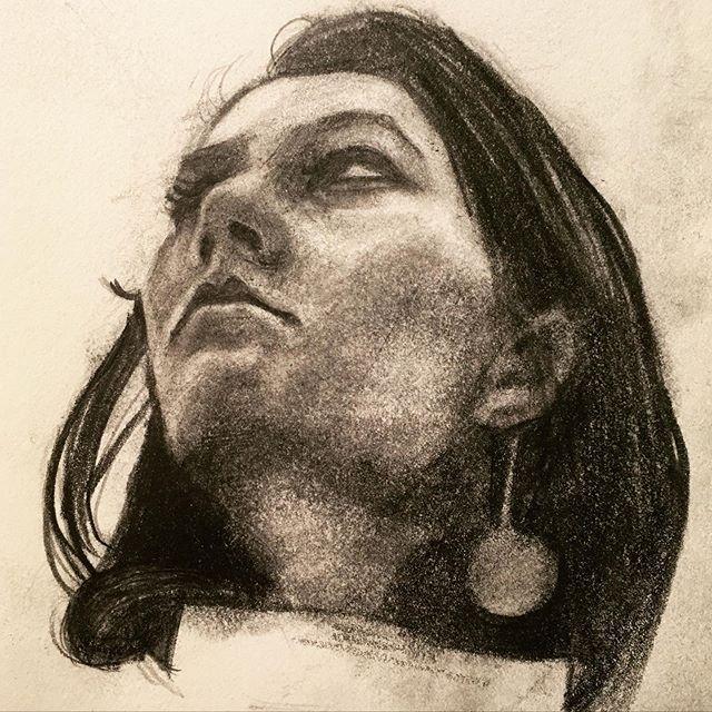 #drawing #practice #sketch #portrait #gr
