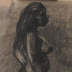 figure drawing the other night 20 min